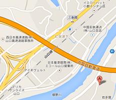 山陽鋼機建設株式会社の地図