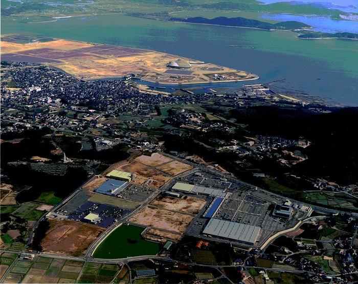 東岐波ショッピングセンター(ハイパーモールメルクス宇部)開発の画像