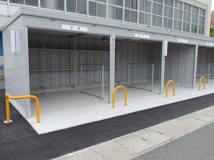 阿知須資源物ステーション新築工事の画像